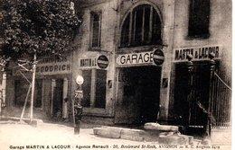 84 AVIGNON DEVANTURE GARAGE RENAULT POSTE A ESSENCE VAUCLUSE - Avignon