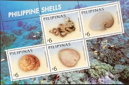 Philippines 2005 Shells S/S - Tokelau