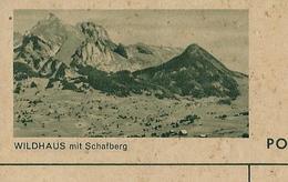 Carte Illustrée Neuve N° 182 - 0388 H   WILDHAUS Mit Schalberg  (Zumstein 2009) - Entiers Postaux