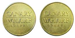 00027 GETTONE TOKEN JETON PARCHEGGIO PARKING CANARY WHARF LONDON - United Kingdom