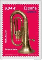 ESPAÑA 2010 - EL BOMBARDINO - INSTRUMENTOS MUSICALES - EDIFIL Nº 4576 - 1931-Hoy: 2ª República - ... Juan Carlos I