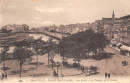 14 - TROUVILLE - Les Quais - La Tonque Et Le Casino - Trouville