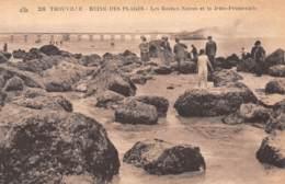 14 - TROUVILLE - Les Roches Noires Et La Jetée-Promenade - Trouville