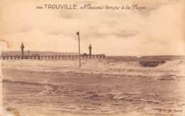 14 - TROUVILLE - Mauvais Temps à La Plage - Trouville