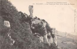 "39 - POLIGNY - ""La Pierre Qui Vire"" Et La Route De Plasne - Poligny"