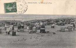 62 - BERCK-PLAGE - Les Cabines Sur La Plage - Berck
