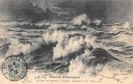 64 - BIARRITZ Pittoresque - Un Soir De Tempête, D'après J. Paguenaud N° 116 - Biarritz