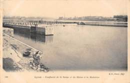 69 - LYON - Confluent De La Saône Et Du Rhône à La Mulatière - Lyon