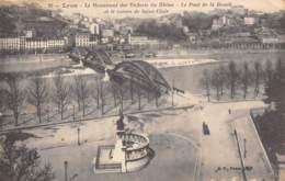 69 - LYON - Le Monument Des Enfants  Du Rhône - Le Pont De La Boucle Et Le Coteau De Saint-Clair - Lyon