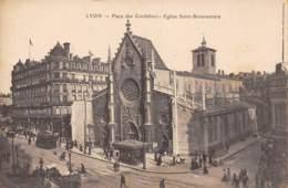 69 - LYON - Place Des Cordeliers - Eglise Saint-Bonaventure - Lyon