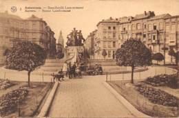 ANTWERPEN - Standbeeld Lambermont - Antwerpen