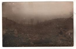 +758,  FOTO-AK, WK I, Gesprengte Brücke, Strecke Ham - Homeland??? Belgien - Weltkrieg 1914-18