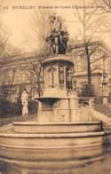 BRUXELLES - Monument Des Comtes D'Egmont Et De Hornes - Monuments, édifices