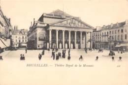 BRUXELLES - Théâtre Royal De La Monnaie - Monuments, édifices