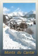 CPM - 15 - MONTS Du CANTAL - Le Village De Montagne Des Chazes - France