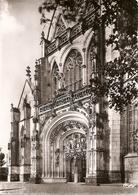 01. CPSM. Ain. Bourg-en-Bresse. Eglise De Brou. (vues Intérieure De L'église (tombeaux, Retable, Vitrail) 10 Cartes) - Eglise De Brou