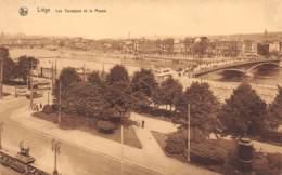 LIEGE - Les Terrasses Et La Meuse - Liege