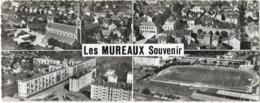 D78 - LES MUREAUX SOUVENIR - EN AVION AU-DESSUS DE ... -MULTIVUES (4clichés)-L'ELGISE ST PIERRE ET ST PAUL...... - Les Mureaux
