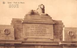 YPRES - Porte De Menin - Lion Sur Le Frontal - Ieper