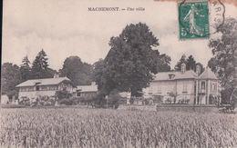 MACHEMONT Une Villa (2 7 1912) - France