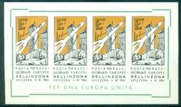 Schweiz 1961 Europa Erinnofilie - Erinnophilie
