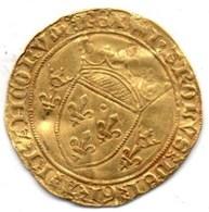 Charles VII, Écu D'Or à La Couronne 1445 - Or