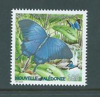 New Caledonia 2014 Swallowtail Butterfly Papilio 180 Fr Single MNH - Ongebruikt