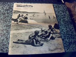 Revue Suisse Ecrite Majoritairement En Allemand Neueste Illustrierte Les Dernieres Nouvelles Illustrèes Du/ 11/07/1937 - Livres, BD, Revues