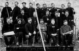 07 SARRAS / CARTE PHOTO / 1914 / GVC / POSTE 14 / 119 E RIT ( PRIVAS  ) /  JOURNAL LA GUERRE SOCIALE / G.V.C. - Privas