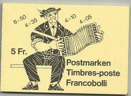 Switzerland 1984 - Booklet , MNH - Carnets