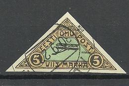 FAUX Estonia Estland 1920 Michel 14 FAKE Fälschung Geriffeltes Papier Ribbed Paper O - Estonie