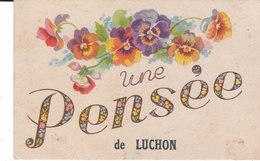 CPA UNE PENSEE De LUCHON  (31) - Luchon