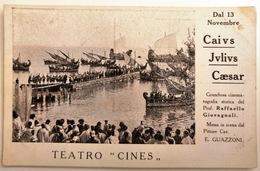 CAIUS JULIUS CAESAR - Cines - Cinema Muto - Silent Movie - Attori