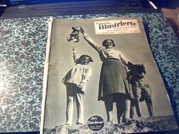 Revue Suisse Ecrite Majoritairement En Allemand Neueste Illustrierte Les Dernieres Nouvelles Illustrèes Du/ 17/10/1937 - Livres, BD, Revues