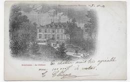 (RECTO / VERSO) BOURBONNE LES BAINS EN 1901 - LE CHATEAU - CPA PRECURSSEUR - Bourbonne Les Bains