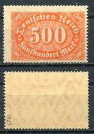 Deutsches Reich Michel-Nr. 223 Postfrisch - Geprüft - Nuovi