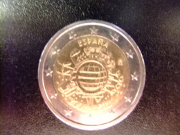 ESPAÑA / ESPAGNE 2012 Aniversario Del EURO - Espagne