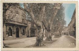 205 - 3844 - 13 Graveson La Promenade Et La Mairie - Autres Communes
