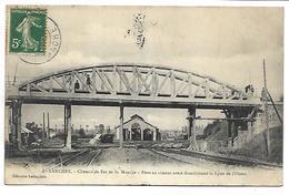 AVRANCHES - Chemin De Fer De La Manche, Pont En Ciment Armé Franchissant La Ligne De L'Ouest - Avranches