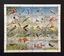 Malawi 1992; Birds Vogel Fauna; Scarce Sheet; MNH** Catalogue Value €60 !! - Malawi (1964-...)