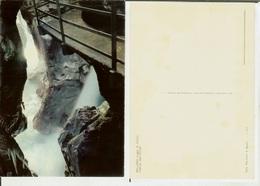 Bellano (Lago Di Como): Interno Dell' Orrido. Cartolina Anni '70 - Como