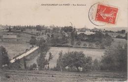 CPA Chateauneuf-la-Forêt - Vue Générale - Chateauneuf La Foret