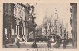 MILANO - PIAZZA DUOMO DA VIA MERCANTI - Milano