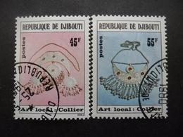 DJIBOUTI N°481 Et 482 Oblitérés - Timbres