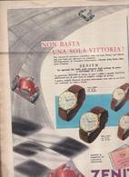 (pagine-pages)PUBBLICITA' ZENITH  Epoca1956/302. - Libri, Riviste, Fumetti