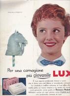 (pagine-pages)PUBBLICITA' LUX(+R.PODESTA')  Epoca1956/302. - Libri, Riviste, Fumetti