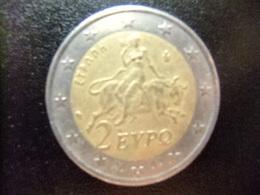 GRECIA / GRÈCE 2002 Rapto De Europa Por Zeus - Grèce