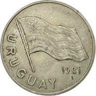 Monnaie, Uruguay, 5 Nuevos Pesos, 1981, Santiago, TTB, Copper-Nickel-Zinc, KM:75 - Uruguay