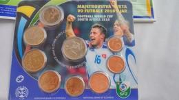 Slovak Euro Coins - Footbal World Cup South Africa 2010 - Slowakei