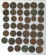 LOT DE 41 LIARDS ET DOUBLE TOURNOIS - 987-1789 Könige